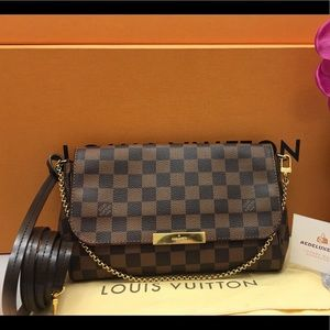 Louis Vuitton Favorite MM Damier Ebene Bag